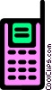 Vector Clip Art image  of a Walkie-Talkies