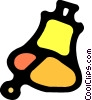 Vector Clipart graphic  of a Bells