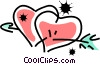 Hearts Vector Clipart graphic