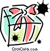 Vector Clipart illustration  of a Christmas Presents Gifts