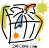 Vector Clip Art picture  of a Christmas Presents Gifts