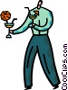 Bartenders Vector Clipart image