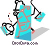 Chefs and Cooks Vector Clipart graphic