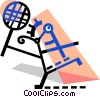 Player Vector Clip Art image
