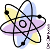 Atoms Vector Clipart illustration