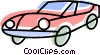 Vector Clipart illustration  of a Sports Cars