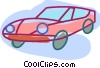 Vector Clip Art picture  of a Sports Cars