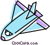 Space Shuttles and Capsules Vector Clipart image
