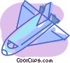 Space Shuttles and Capsules Vector Clipart graphic