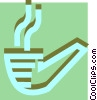 Vector Clip Art picture  of a Pipes