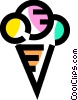 Vector Clipart picture  of a Ice Cream and Frozen Treats