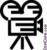 Vector Clipart picture  of a Cameras