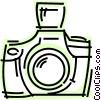 Cameras Vector Clip Art graphic