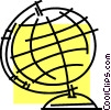 Vector Clipart graphic  of a Globes