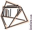 Envelopes Vector Clip Art image