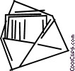Vector Clip Art picture  of a Envelopes