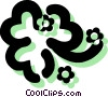 Shamrocks Vector Clipart graphic