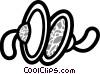 Cymbals Vector Clipart illustration