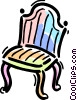 Chairs Vector Clipart illustration