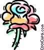 Vector Clipart graphic  of a Roses