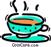 Teacups Vector Clipart illustration