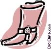 Boots Vector Clipart illustration