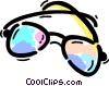 Glasses and Eyeglasses Vector Clipart graphic