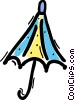 Vector Clipart illustration  of a Umbrellas