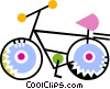 Vector Clip Art image  of a Bicycles