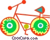 Bicycles Vector Clip Art picture