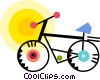 Bicycles Vector Clipart illustration