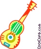 Vector Clipart picture  of an Acoustic Guitars