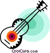 Acoustic Guitars Vector Clipart graphic