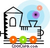 Toy Trains Vector Clip Art picture