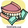 Teeth and Oral Hygiene Vector Clipart graphic
