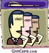 Vector Clipart graphic  of a Businessmen