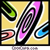 Vector Clipart illustration  of a paperclips