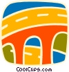Roadways Vector Clipart image