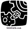 Gears Vector Clipart illustration