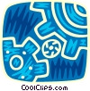 Gears Vector Clipart picture