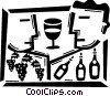Wine Vector Clipart illustration