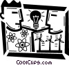 Vector Clipart image  of a Wind Energy