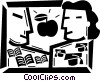 Vector Clipart illustration  of a Educational Concepts