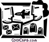 Airmail Vector Clipart illustration