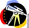 Telescopes Vector Clipart picture