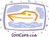 Vector Clipart graphic  of a Yachts
