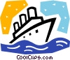 Cruise Ships and Ocean Liners Vector Clipart image