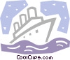 Cruise Ships and Ocean Liners Vector Clipart picture