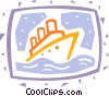 Cruise Ships and Ocean Liners Vector Clip Art image