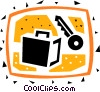 Vaults and Safes Vector Clip Art graphic